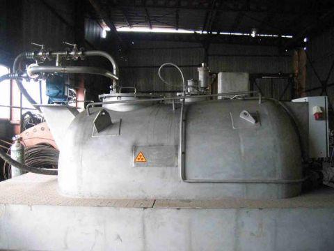 Изготовление емкостей для сбора жидких радиоактивных отходов