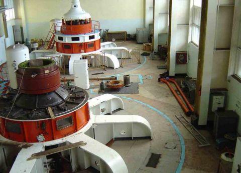 Разборка гидроагрегата на Кумской ГЭС-9