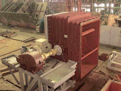 Подготовка к монтажу артогонального агрегата ПЭС