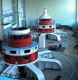 Машинный зал Кумской ГЭС-9